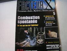 ** Facteur X ovnis n°5 Comité Majestic - 12 / Unité 731 / Christian Page