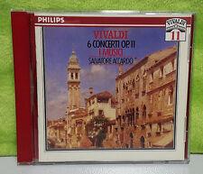 Vivaldi Edition, Vol 11 - 6 Concerti, Op 11 / Accardo by Salvatore Accardo (CD,