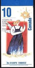 Canada 1993 Booklet #163 Poland Santa