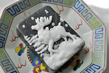 Reindeer Soap Colored Storm - Handmade