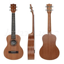 Kmise Professional 26 Inch Tenor Ukulele Uke Hawaii Guitar Parts Sapele 18 Fret