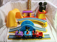 USED Disney Store Mickey Mouse Clubhouse Train Set