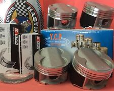 YCP B16 B18 B20 84mm STD Bore HighComp Pistons + Rings + Bearing kit Honda Acura
