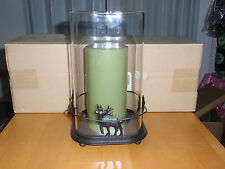 "Longaberger Wrought Iron & Glass ""REINDEER CANDLE HOLDER"" NEW!!! in box"