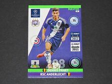 PRAET BELGIË ANDERLECHT UEFA PANINI FOOTBALL CARD CHAMPIONS LEAGUE 2014 2015