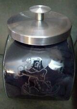 Personalized dog treat jar