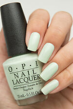 OPI '16 Soft Shade Pastel ~THIS COST ME A MINT~ Light Green Nail Polish Lacquer