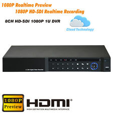 1080P HD SDI DVR 8CH 1080P Real-time recording 1080P Real-time Preview