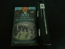 100 YEARS OF ALL BLACK RUGBY ULTRA RARE OZ RUGBY UNION VHS VIDEO!
