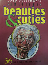 Beauties and Cuties by Drew Friedman - 36 Trading Cards Factory Sealed NIB