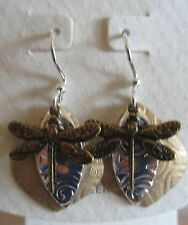 Jody Coyote Earrings JC0694 new Solistice QG009 dragonfly gold silver dangle 2