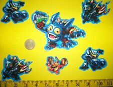 New! Cool! Skylanders IRON-ONS FABRIC APPLIQUES IRON-ONS