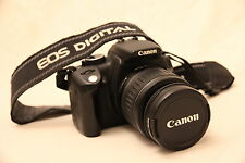 Canon EOS 350D 8MP Digital SLR Camera with 18-55mm lens and 4GB CompactFlash