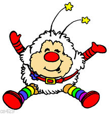"""8.5"""" LARGE RAINBOW BRITE TWINK SPRITE CHARACTER BIRTHDAY WALL DECOR CUT OUT"""