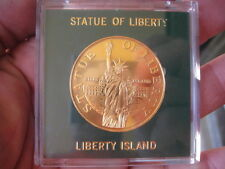 commemorative coin emma lazarus statue of liberty & Ellis Island New York