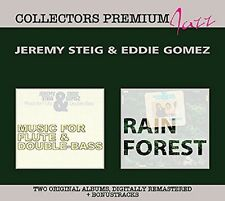 Jeremy & Gomez, Eddie monte-Music for Flute & Double Bass & - Deluxe 2 CD NEUF