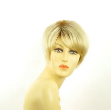 short wig for women very clear golden blond ref: elsa ys PERUK