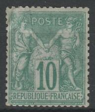 """FRANCE STAMP TIMBRE N° 65 """" SAGE 10c VERT TYPE I """" NEUF A VOIR  N142"""