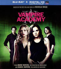 Vampire Academy (Blu-ray Disc, 2014, + Digital Copy; UltraViolet-may be expired)