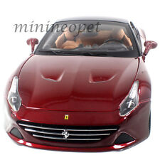 BBURAGO SIGNATURE SERIES 16902 FERRARI CALIFORNIA T CLOSED TOP 1/18 DARK RED