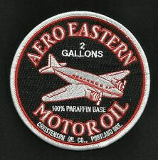 VINTAGE STYLE AERO EASTERN MOTOR OIL HOT ROD ROCKABILLY GREASER BIKER PATCH