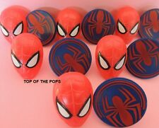 NEW SPIDERMAN!!  Cupcake Rings/Cake Toppers decorations 12PCS