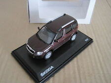 ABREX SKODA YETI in ROSSO RED BRUNELLO 1/43 MODEL CAR