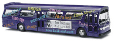 HO Busch 1959 Teen Pregnancy Info  TDH-5301 GMC Fishbowl City Bus 44504