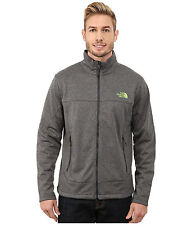 NEW The North Face SALE Men Canyonwall Soft Shell Zip Coat Jacket Asphalt Grey M