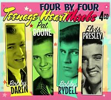 """Teenage Heartthrobs"" Elvis Presley, Pat Boone, Bobby Darin Rydell [4CD Box Set]"