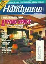 1987 Family Handyman Magazine: Turn Garage Into Living Space/Sotheby's Furniture