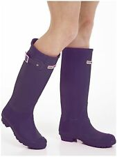 Women's Wellies - Ladies Purple Wellington Boots - Size 6 UK - EU 39