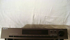 SONY DIGITAL SYNTHESIZER FM STEREO AM FM TUNER ST-421 TESTED WORKS GREAT