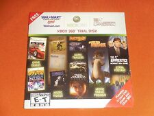 Xbox 360 Wal Mart Trial Disk *Sealed Promo*