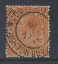 GB KG5 1924 BLOCK 2d...FU CDS LEIGHTON BUZZARD..cv £100