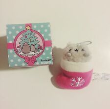 NWT Gund Pusheen the Cat Series 2 Christmas Ornament - Stormy In Stocking