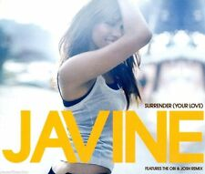 JAVINE - SURRENDER ( YOUR LOVE ) - pop single - FREE P&P UK