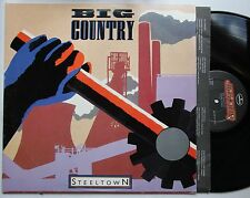 Big Country Steeltown USA 1984 LP + Innerbag