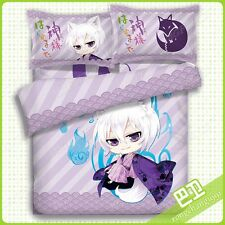 Hot Anime Kamisama Kiss Tomoe Duvet Cover Bed Sheet Pillowcase 4pcs Bedding Set