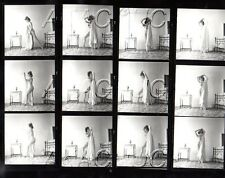 Nude Puts On Her Nightgown HENDRICKSON Negatives & Photograph Contact Sheet D647
