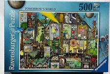 RAVENSBURGER JIGSAW PUZZLE 500pc  TOMORROW'S WORLD £6.99  NEW