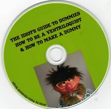 How to Be a Ventriloquist & How to Make a Dummy