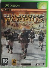 Jeu FULL SPECTRUM WARRIOR sur microsoft XBOX 1 francais action guerre spiel game