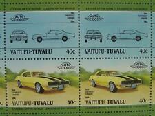 1968 CHEVY CHEVROLET CAMARO Car 50-Stamp Sheet / Auto 100 Leaders of the World