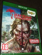 Dead Island Definitive Edition Collection XBOX ONE XB1 NEW SEALED
