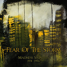 "FEAR OF THE STORM ""Madness Splinters (1991-1996)"" 3xdigiCD*Gothic Wave (SEALED)"