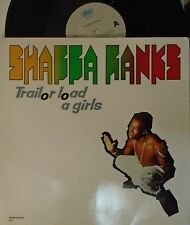 "SHABBA RANKS ~ Trailor Load A Girls ~ 12"" Single PS"