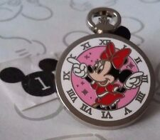 Minnie Mouse Pink Stopwatch Clock Pocket Watch PWP 2015 Mystery Disney Pin