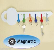 Llave Magnetica Soporte De Almacenamiento para Organizador, Blanco, Nuevo