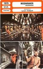 FICHE CINEMA : MOONRAKER - Moore 007 Bond,Chiles,Lonsdale,Cléry,Gilbert 1979